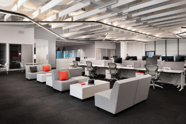 American Red Cross Commercial Interior Construction by Gallin