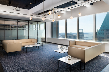 International Financial Firm Commercial Interior Construction by Gallin